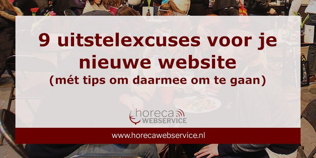 9 uitstelexcuses voor je nieuwe website
