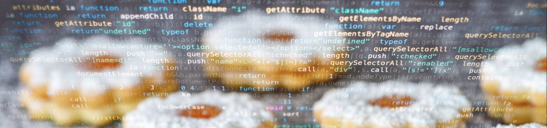 Cookies en computer data, foto: NickyPe (Pixabay) en Markus Spiske (Pexels)