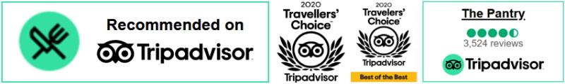 Afbeeldingen van Tripadvisor Award widgets en Badges