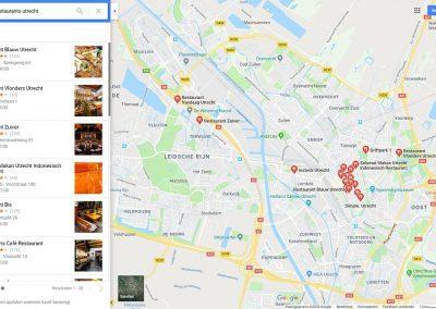 Google Bedrijfsinformatie Google Maps