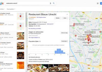 Google Bedrijfsinformatie Google Maps Details