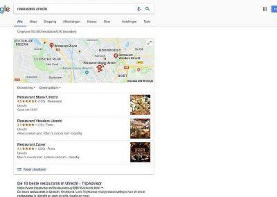 Google Bedrijfsinformatie Tree Pack Google zoeken