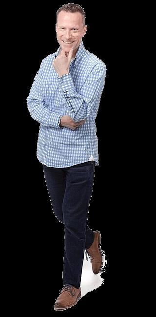 John-Pierre Cornelissen, restaurant website designer & eigenaar van Horeca Webservice