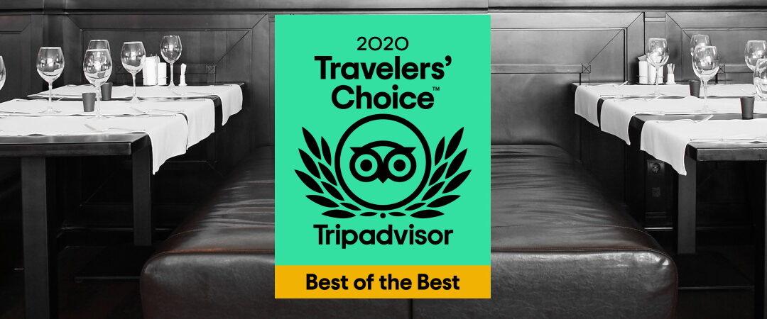Zet géén widget van je Tripadvisor-award op je website (wel dit alternatief)