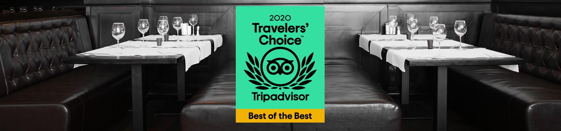 Tripadvisor award widget
