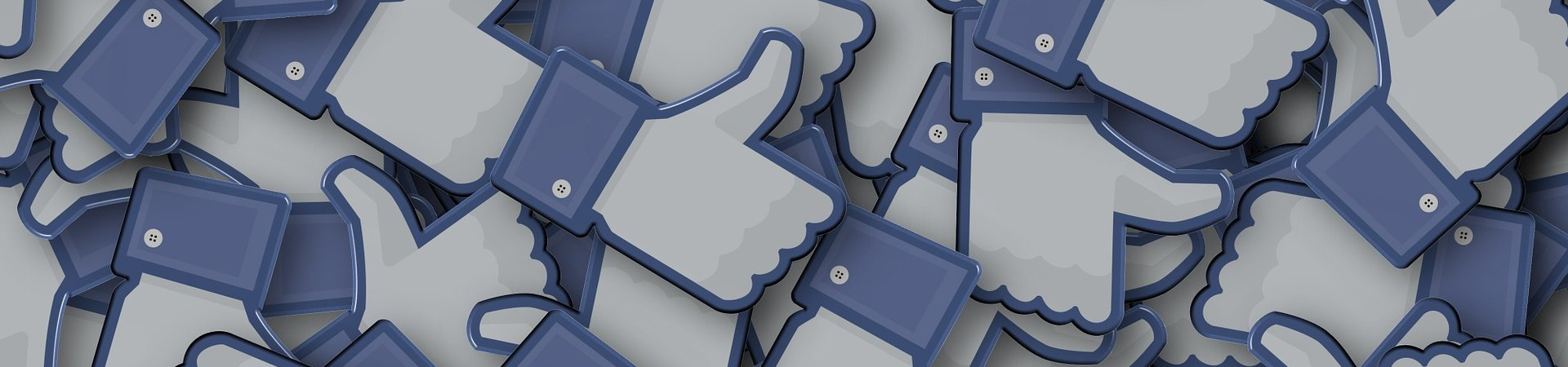 facebook like icoontjes door Pete Linforth van Pixabay