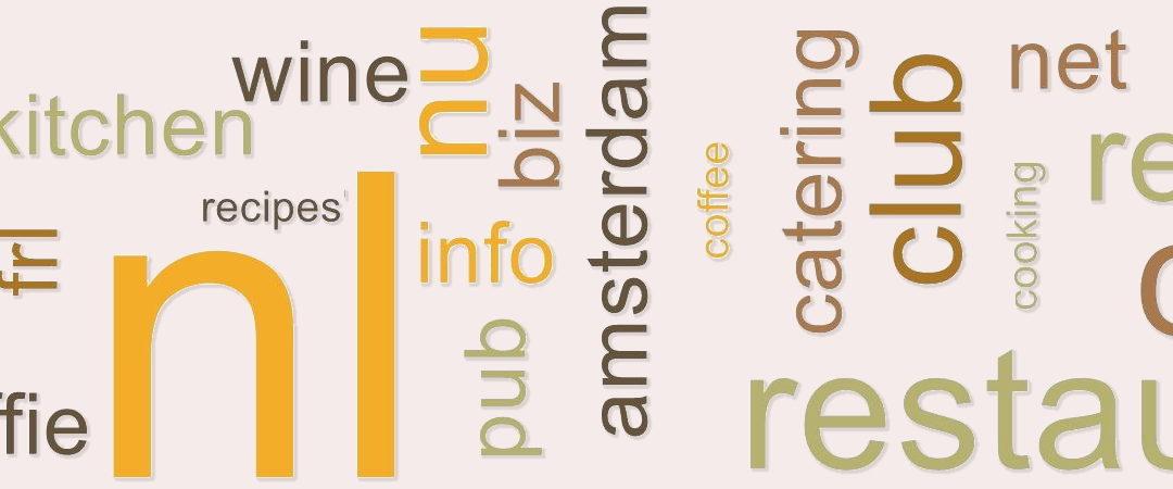 Zo kies je een domeinnaam voor je restaurantwebsite
