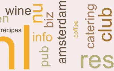 Zo kies je een domeinnaam voor een restaurantwebsite
