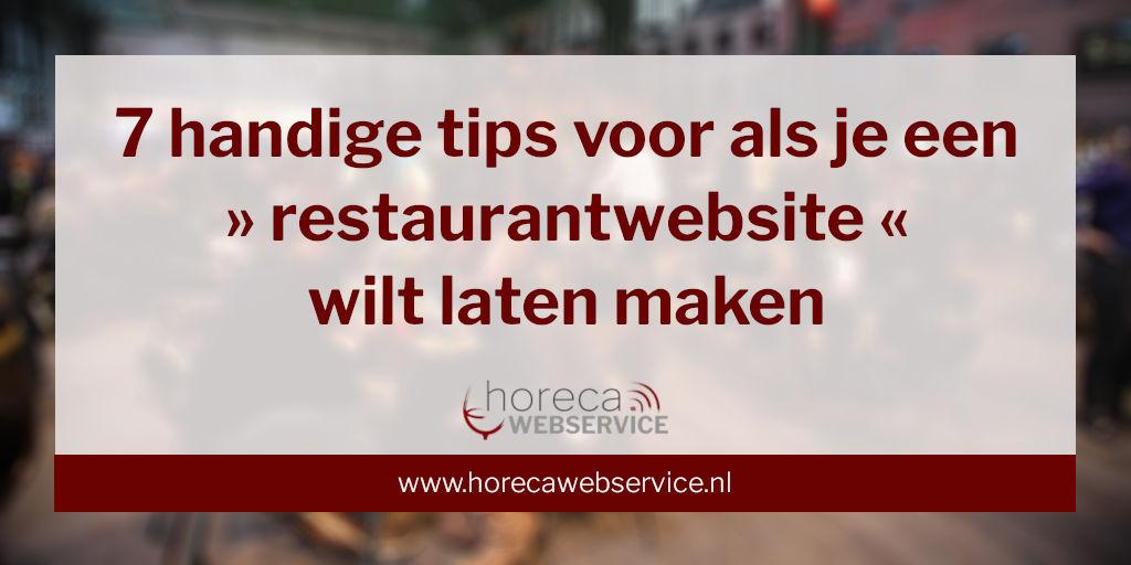Handige tips voor als je een restaurantwebsite wilt laten maken (foto Bigstock Berlin 25613672)